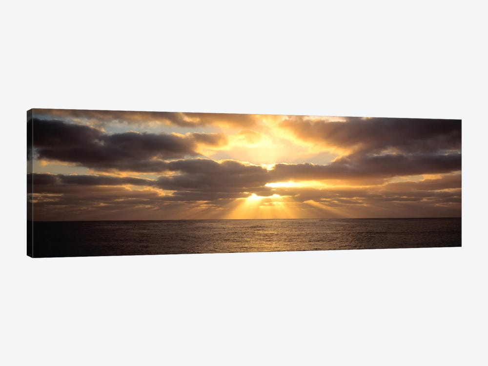 Sunset Sub Antarctic Australia 1-piece Canvas Artwork