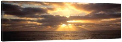 Sunset Sub Antarctic Australia Canvas Art Print
