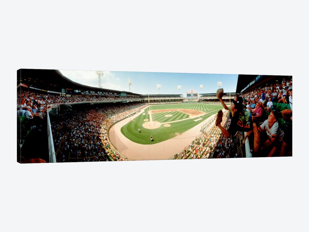 Old Comiskey Park, Chicago, Illinois, USA 1-piece Canvas Art Print