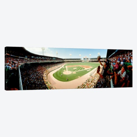 Old Comiskey Park, Chicago, Illinois, USA 3-Piece Canvas #PIM11938} by Panoramic Images Canvas Art Print