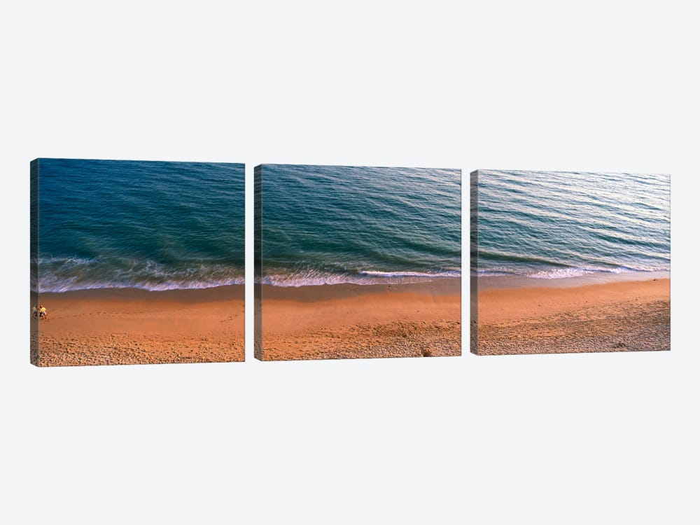 Surf The Algarve Portugal by Panoramic Images 3-piece Art Print