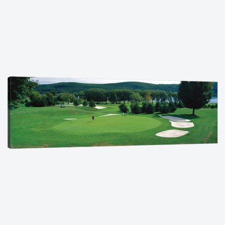 Leatherstocking Golf Course, New York State, USA Canvas Print #PIM11942} by Panoramic Images Canvas Art
