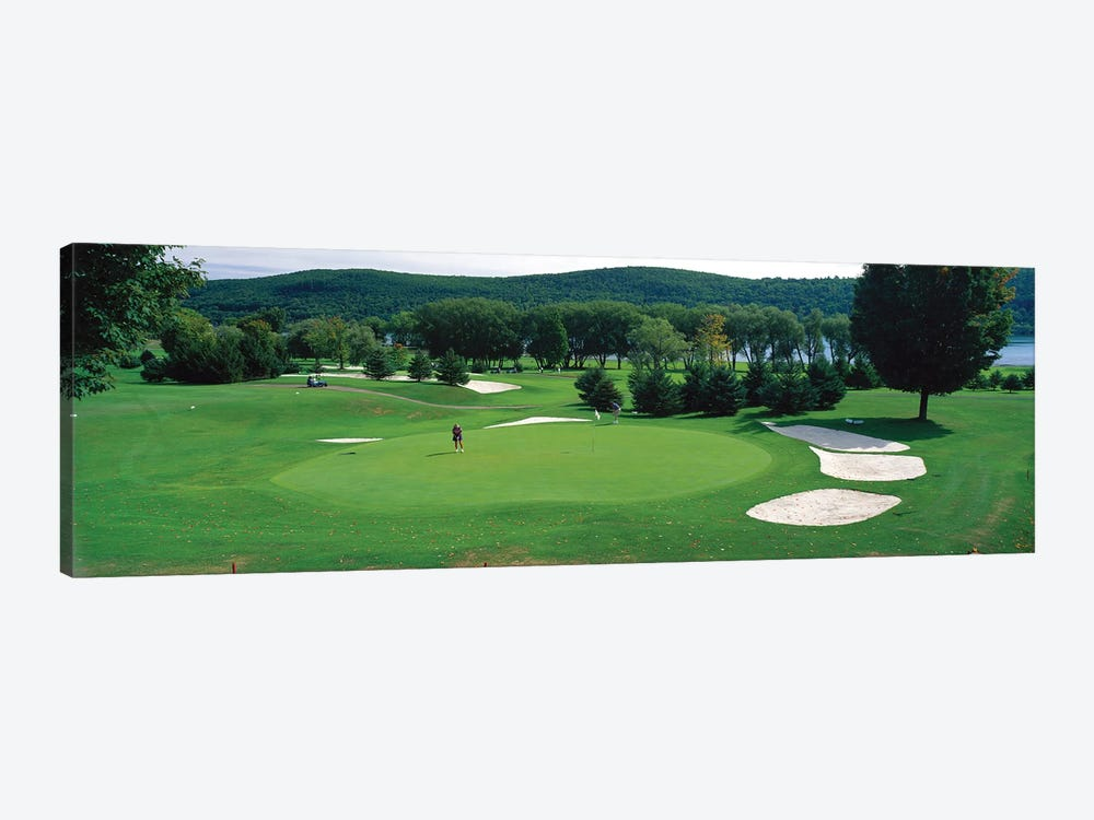 Leatherstocking Golf Course, New York State, USA by Panoramic Images 1-piece Canvas Artwork