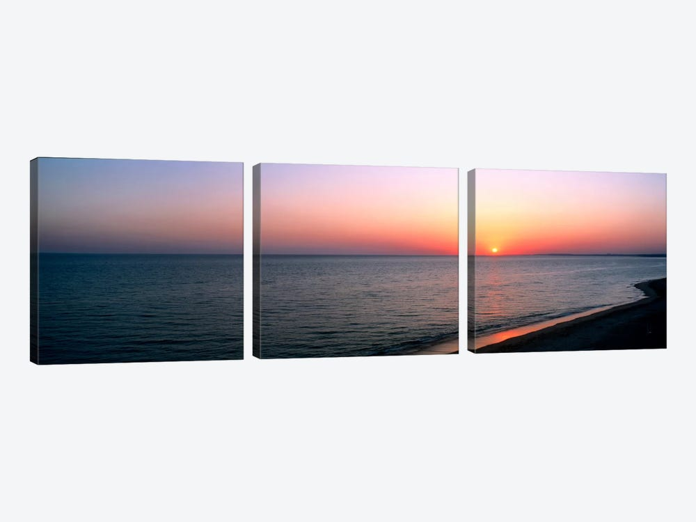 Seascape The Algarve Portugal 3-piece Canvas Art