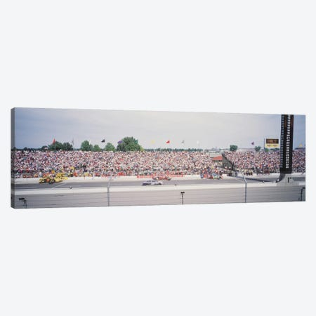 Pit Road, Indianapolis Motor Speedway (The Brickyard), Marion County, Indiana, USA Canvas Print #PIM11960} by Panoramic Images Canvas Art