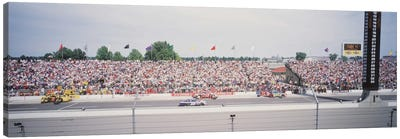 Pit Road, Indianapolis Motor Speedway (The Brickyard), Marion County, Indiana, USA Canvas Art Print