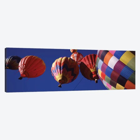 Low angle view of hot air balloons in the sky, Colorado, USA Canvas Print #PIM11974} by Panoramic Images Canvas Art
