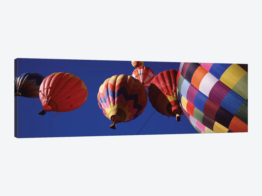 Low angle view of hot air balloons in the sky, Colorado, USA by Panoramic Images 1-piece Canvas Art Print