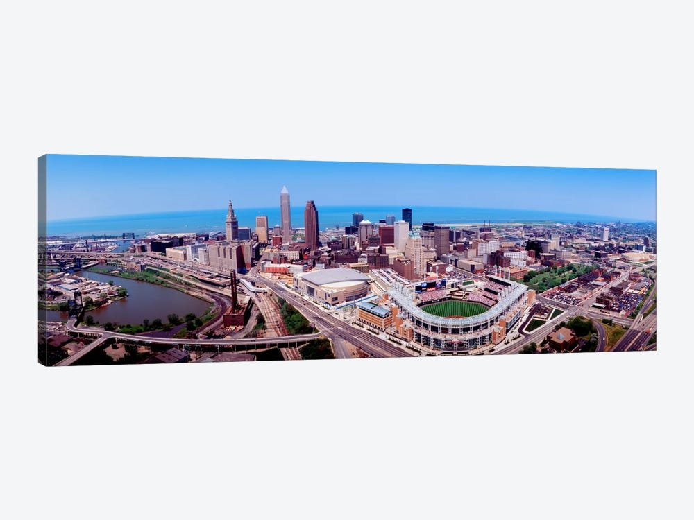 Aerial View Of Jacobs Field, Cleveland, Ohio, USA by Panoramic Images 1-piece Art Print