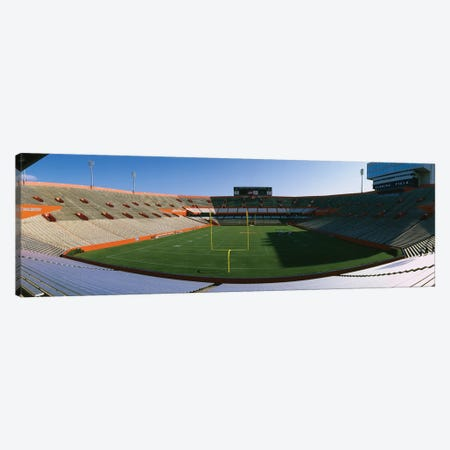 High angle view of players in a football field, Ben Hill Griffin Stadium, University Of Florida, Gainesville, Florida, USA Canvas Print #PIM12004} by Panoramic Images Canvas Artwork