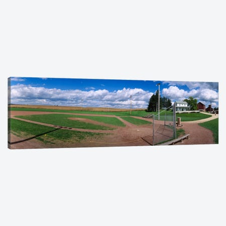 Field Of Dreams, Dyersville, Dubuque County, Iowa, USA Canvas Print #PIM12005} by Panoramic Images Canvas Artwork