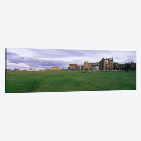 Swilken Bridge, Old Course, Royal And Ancient Golf Club Of St. Andrews, Fife, Scotland, United Kingdom Canvas Print #PIM12013} by Panoramic Images Canvas Art