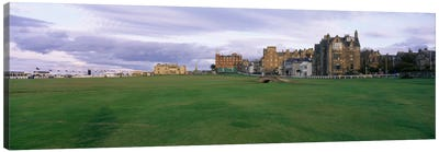 Swilken Bridge, Old Course, Royal And Ancient Golf Club Of St. Andrews, Fife, Scotland, United Kingdom Canvas Art Print