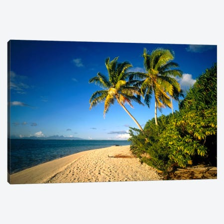 Tahiti French Polynesia Canvas Print #PIM1202} by Panoramic Images Art Print