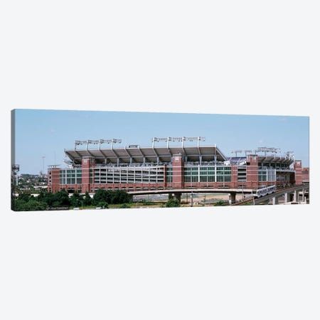 Cable car passing by a stadium, M&T Bank Stadium, Baltimore, Maryland, USA Canvas Print #PIM12036} by Panoramic Images Art Print