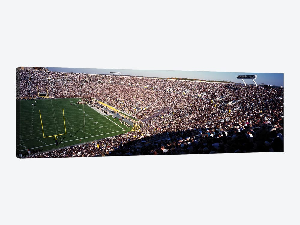 Notre Dame Stadium USA by Panoramic Images 1-piece Canvas Art