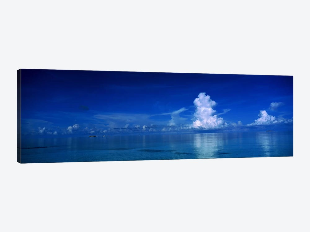 Sea & Clouds The Maldives by Panoramic Images 1-piece Canvas Art
