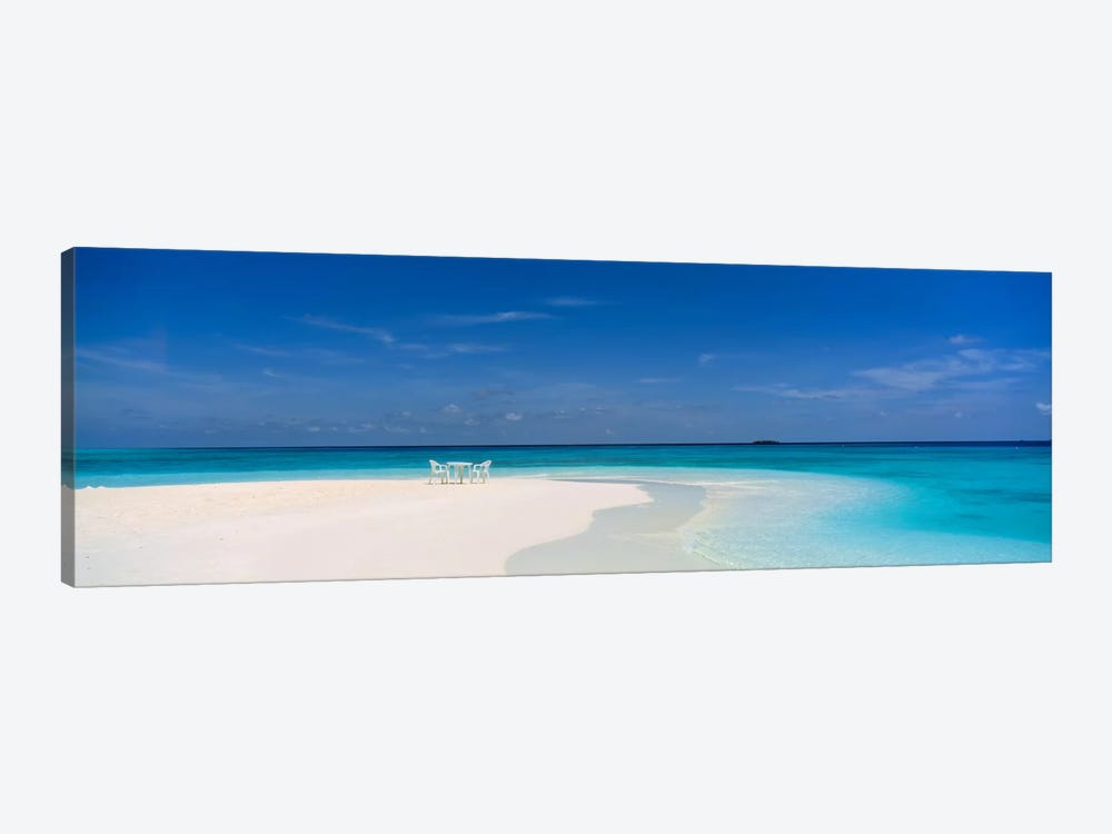 Beach Scene The Maldives by Panoramic Images 1-piece Canvas Wall Art