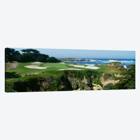 15th Hole I, Cypress Point Golf Course, Pebble Beach, California, USA Canvas Print #PIM12099} by Panoramic Images Canvas Artwork
