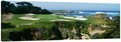 15th Hole I, Cypress Point Golf Course, Pebble Beach, California, USA Canvas Print #PIM12099