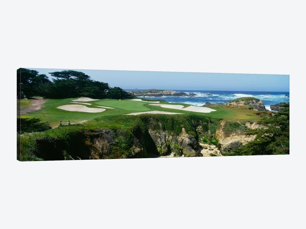 15th Hole I, Cypress Point Golf Course, Pebble Beach, California, USA by Panoramic Images 1-piece Canvas Wall Art