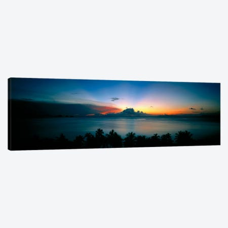 Sunset & Cloud Thailand Canvas Print #PIM1209} by Panoramic Images Canvas Print