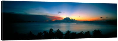 Sunset & Cloud Thailand Canvas Art Print