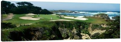 15th Hole II, Cypress Point Golf Course, Pebble Beach, California, USA Canvas Print #PIM12100