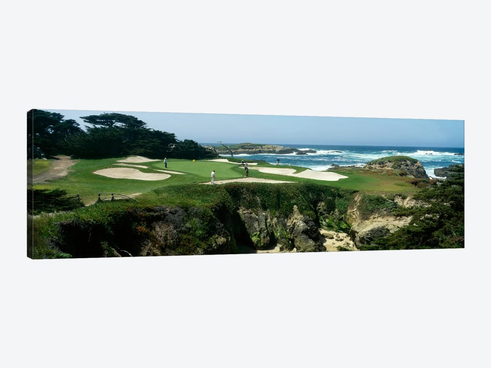 15th Hole II, Cypress Point Golf Course, Pebble Beach, California, USA by Panoramic Images 1-piece Canvas Art Print