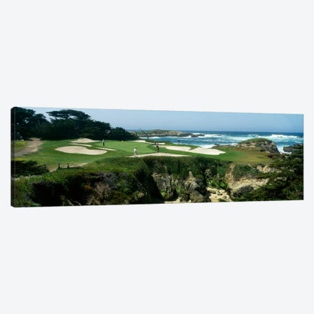 15th Hole II, Cypress Point Golf Course, Pebble Beach, California, USA Canvas Print #PIM12100} by Panoramic Images Canvas Wall Art