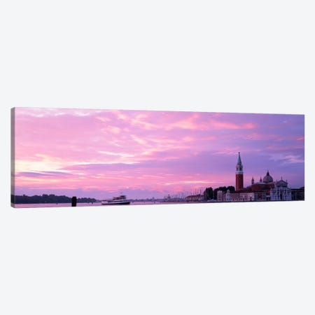 Church in a citySan Giorgio Maggiore, Grand Canal, Venice, Italy Canvas Print #PIM1210} by Panoramic Images Canvas Wall Art