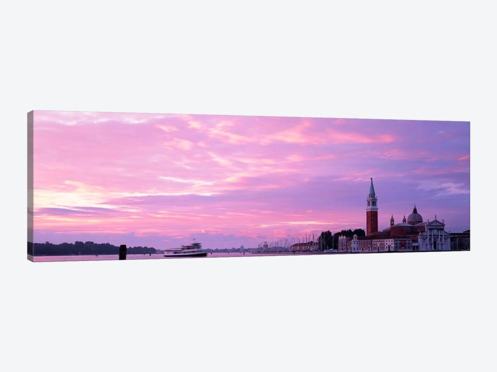 Church in a citySan Giorgio Maggiore, Grand Canal, Venice, Italy by Panoramic Images 1-piece Canvas Artwork