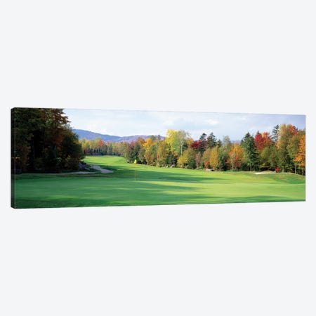 New England Golf Course New England USA Canvas Print #PIM12120} by Panoramic Images Canvas Artwork