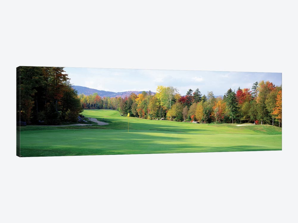 New England Golf Course New England USA by Panoramic Images 1-piece Canvas Print