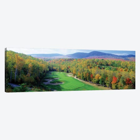High Angle view of New England Golf Course New England USA 3 Canvas Print #PIM12121} by Panoramic Images Canvas Wall Art