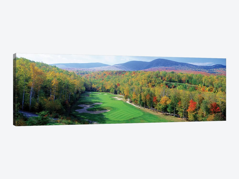 High Angle view of New England Golf Course New England USA 3 by Panoramic Images 1-piece Canvas Wall Art