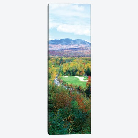 High Angle view of New England Golf Course New England USA 6 Canvas Print #PIM12124} by Panoramic Images Art Print