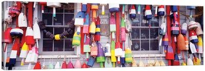 Storefront, Newcastle, Maine, USA Canvas Art Print