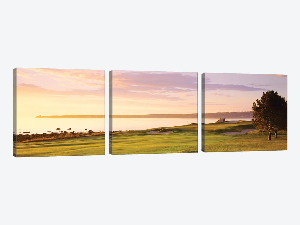 Sunrise Golf Course ME USA by Panoramic Images 3-piece Canvas Wall Art