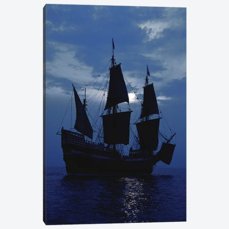 Replica of Mayflower II Canvas Print #PIM12154} by Panoramic Images Canvas Artwork