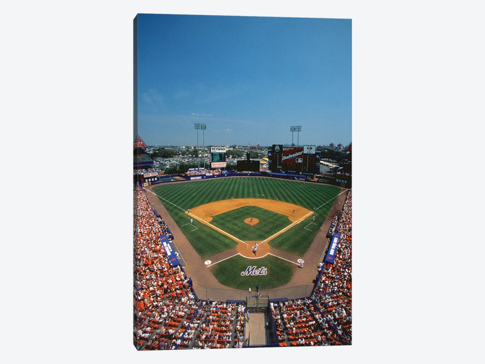 High Angle view of Mets Game at Shea Stadium by Panoramic Images 1-piece Art Print