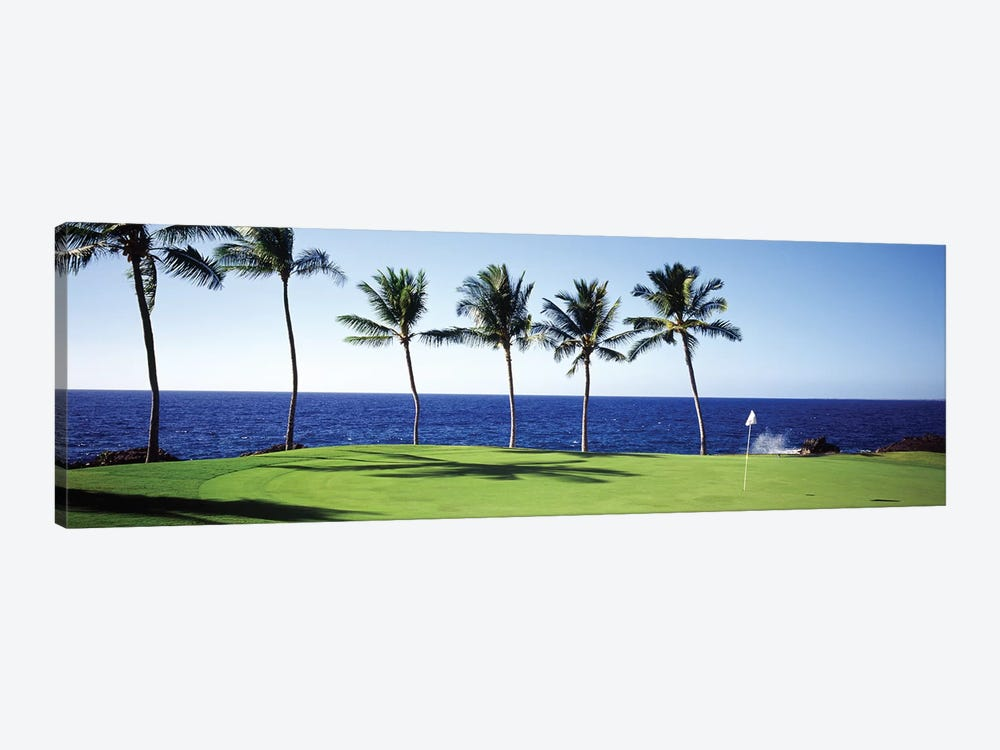 Golf Course Big Island HI by Panoramic Images 1-piece Canvas Print