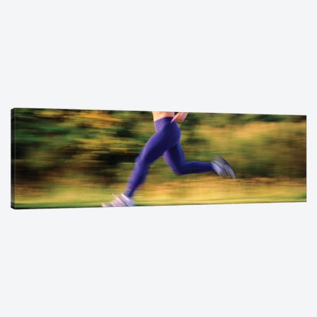 Low section of a female athlete Canvas Print #PIM12195} by Panoramic Images Canvas Artwork