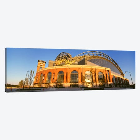 Miller Park, Milwaukee, Wisconsin, USA Canvas Print #PIM12214} by Panoramic Images Canvas Art Print