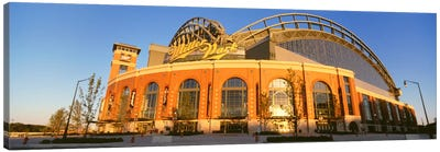 Miller Park, Milwaukee, Wisconsin, USA Canvas Art Print