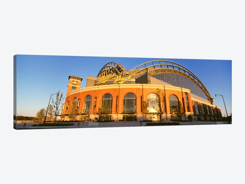 Miller Park, Milwaukee, Wisconsin, USA by Panoramic Images 1-piece Canvas Artwork