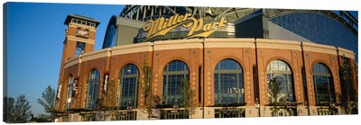 Miller Park In Zoom, Milwaukee, Wisconsin, USA Canvas Art Print