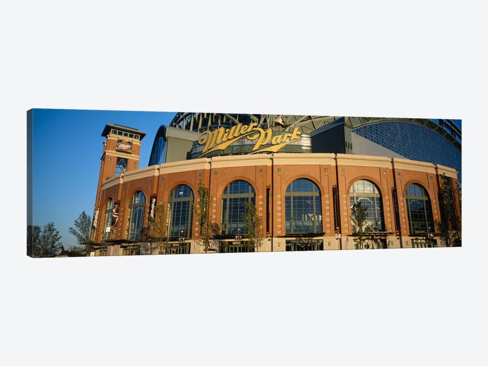 Miller Park In Zoom, Milwaukee, Wisconsin, USA by Panoramic Images 1-piece Canvas Print