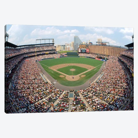 Aerial View, Oriole Park At Camden Yards, Baltimore, Maryland, USA Canvas Print #PIM12222} by Panoramic Images Art Print