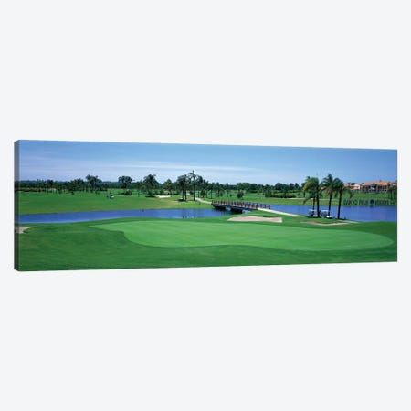 Golf Course Gold Coast Queensland Australia Canvas Print #PIM12230} by Panoramic Images Canvas Artwork